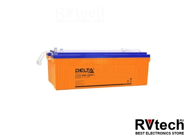 DELTA DTM 12230 L - Аккумулятор для UPS. 12 V, 230 A, Купить DELTA DTM 12230 L - Аккумулятор для UPS. 12 V, 230 A в магазине РадиоВидео.рф, Аккумулятор Delta DTM