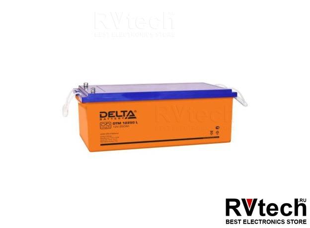 DELTA DTM 12250 L - Аккумулятор для UPS. 12 V, 250 A, Купить DELTA DTM 12250 L - Аккумулятор для UPS. 12 V, 250 A в магазине РадиоВидео.рф, Аккумулятор Delta DTM