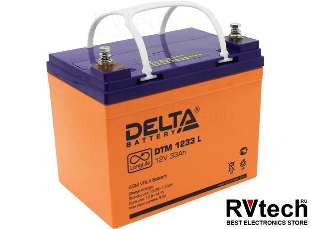 DELTA DTM 1233 L - Аккумулятор для UPS. 12 V, 33 A, Купить DELTA DTM 1233 L - Аккумулятор для UPS. 12 V, 33 A в магазине РадиоВидео.рф, Аккумулятор Delta DTM