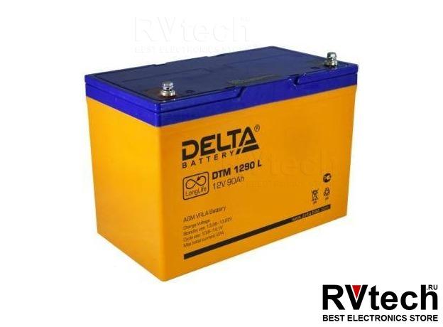 DELTA DTM 1290 L - Аккумулятор для UPS. 12 V, 90 A, Купить DELTA DTM 1290 L - Аккумулятор для UPS. 12 V, 90 A в магазине РадиоВидео.рф, Аккумулятор Delta DTM