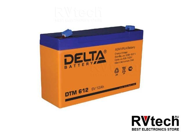 DELTA DTM 612 - Аккумулятор для UPS. 6 V, 12 A, Купить DELTA DTM 612 - Аккумулятор для UPS. 6 V, 12 A в магазине РадиоВидео.рф, Аккумулятор Delta DTM