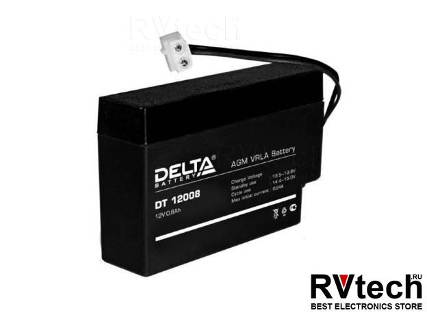 DELTA DT 12008 (T9) - Аккумулятор для UPS. 12 V, 0,8 A, Купить DELTA DT 12008 (T9) - Аккумулятор для UPS. 12 V, 0,8 A в магазине РадиоВидео.рф, Аккумулятор Delta DT