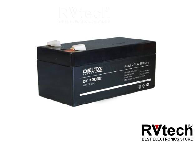 DELTA DT 12032 - Аккумулятор для UPS. 12 V, 3,3 A, Купить DELTA DT 12032 - Аккумулятор для UPS. 12 V, 3,3 A в магазине РадиоВидео.рф, Аккумулятор Delta DT