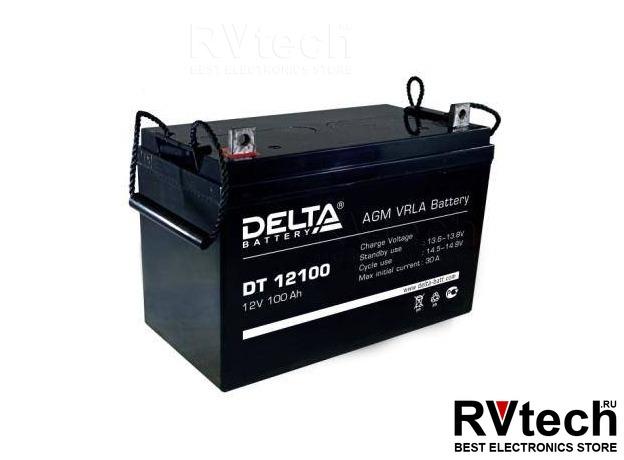 DELTA DT 12100 - Аккумулятор для UPS. 12 V, 100 A, Купить DELTA DT 12100 - Аккумулятор для UPS. 12 V, 100 A в магазине РадиоВидео.рф, Аккумулятор Delta DT