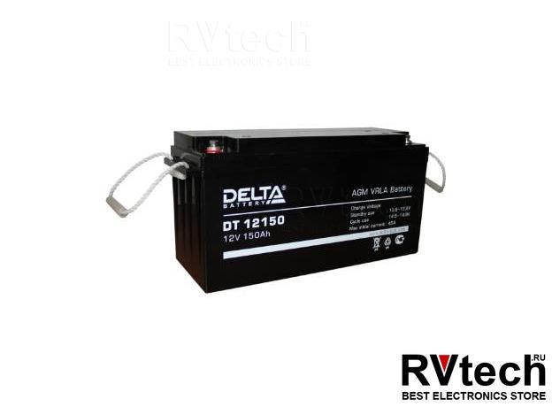 DELTA DT 12150 - Аккумулятор для UPS. 12 V, 150 A, Купить DELTA DT 12150 - Аккумулятор для UPS. 12 V, 150 A в магазине РадиоВидео.рф, Аккумулятор Delta DT