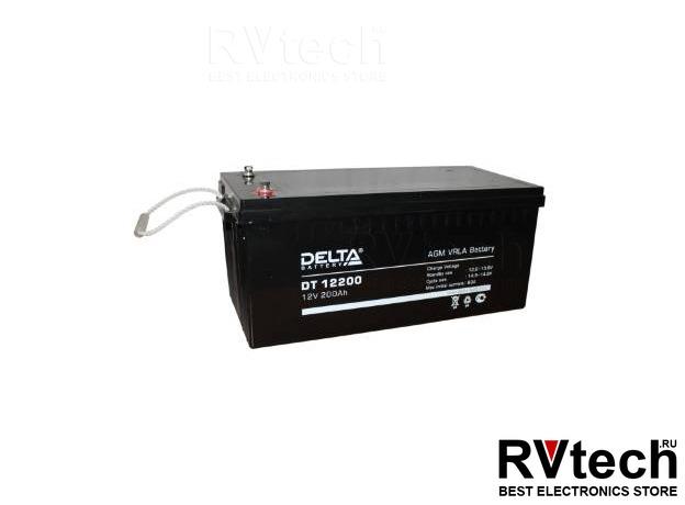 DELTA DT 12200 - Аккумулятор для UPS. 12 V, 200 A, Купить DELTA DT 12200 - Аккумулятор для UPS. 12 V, 200 A в магазине РадиоВидео.рф, Аккумулятор Delta DT