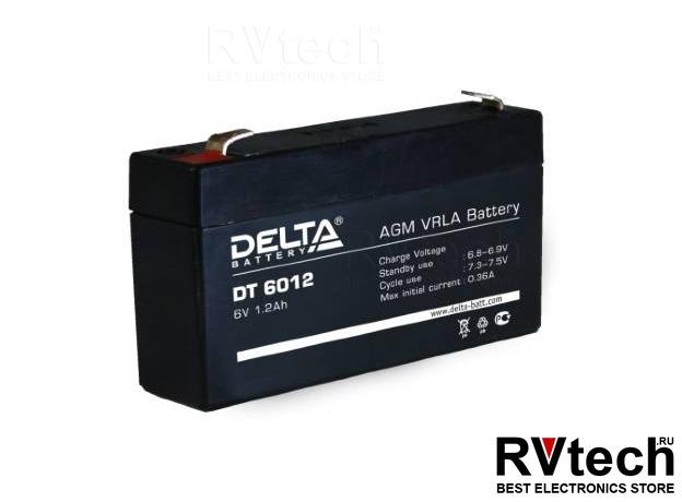 DELTA DT 6012 - Аккумулятор для UPS. 6 V, 1,2 A, Купить DELTA DT 6012 - Аккумулятор для UPS. 6 V, 1,2 A в магазине РадиоВидео.рф, Аккумулятор Delta DT