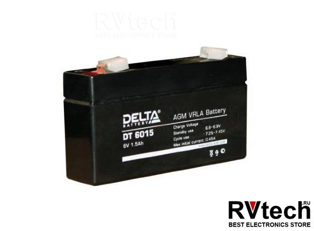 DELTA DT 6015 - Аккумулятор для UPS. 6 V, 1,5 A, Купить DELTA DT 6015 - Аккумулятор для UPS. 6 V, 1,5 A в магазине РадиоВидео.рф, Аккумулятор Delta DT