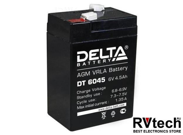 DELTA DT 6045 - Аккумулятор для UPS. 6 V, 4,5 A, Купить DELTA DT 6045 - Аккумулятор для UPS. 6 V, 4,5 A в магазине РадиоВидео.рф, Аккумулятор Delta DT