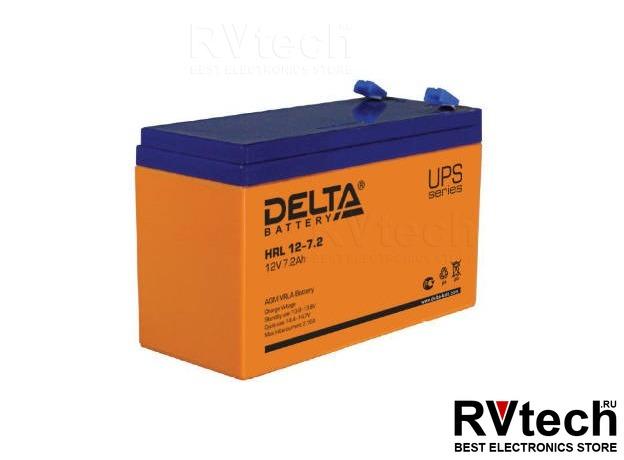 DELTA HRL12-7,2 - Аккумулятор для UPS. 12 V, 7,2 A, Купить DELTA HRL12-7,2 - Аккумулятор для UPS. 12 V, 7,2 A в магазине РадиоВидео.рф, Аккумулятор Delta HR