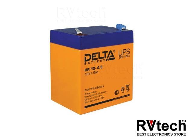 DELTA HR 12-4.5 - Аккумулятор для UPS. 12 V, 4,5 A, Купить DELTA HR 12-4.5 - Аккумулятор для UPS. 12 V, 4,5 A в магазине РадиоВидео.рф, Аккумулятор Delta HR