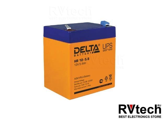 DELTA HR 12-5.8 - Аккумулятор для UPS. 12 V, 5,8 A, Купить DELTA HR 12-5.8 - Аккумулятор для UPS. 12 V, 5,8 A в магазине РадиоВидео.рф, Аккумулятор Delta HR