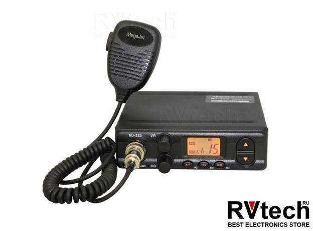 Рация Megajet 333 СИ-БИ рация 27 МГц, Купить Рация Megajet 333 СИ-БИ рация 27 МГц в магазине РадиоВидео.рф, MegaJet