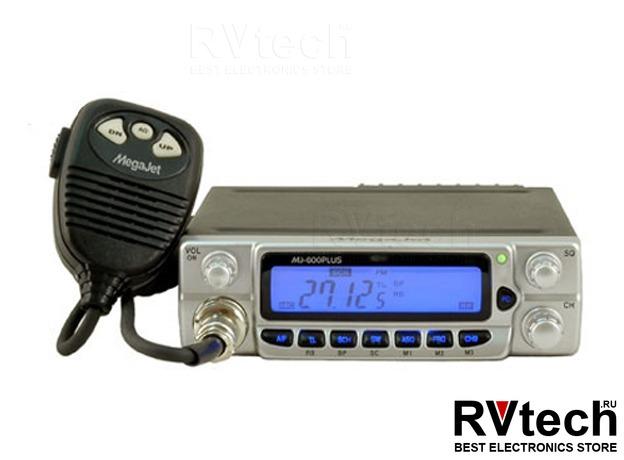 Рация Megajet 600 Plus Turbo СИ-БИ рация 27 МГц, Купить Рация Megajet 600 Plus Turbo СИ-БИ рация 27 МГц в магазине РадиоВидео.рф, MegaJet