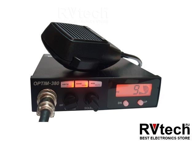 Optim 380 рация СИ БИ (27МГц), Купить Optim 380 рация СИ БИ (27МГц) в магазине РадиоВидео.рф, Optim
