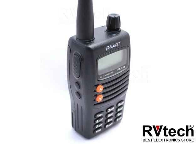 Рация PUXING PX-333 UHF, Купить Рация PUXING PX-333 UHF в магазине РадиоВидео.рф, Puxing