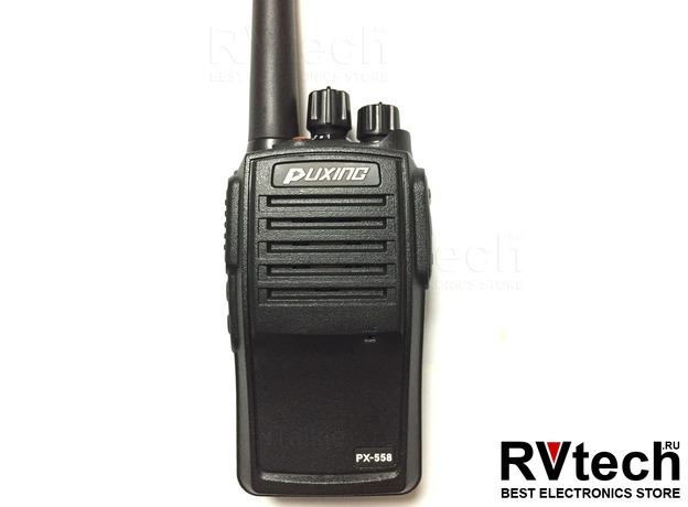 Рация PUXING PX-558 UHF IP67, Купить Рация PUXING PX-558 UHF IP67 в магазине РадиоВидео.рф, Puxing