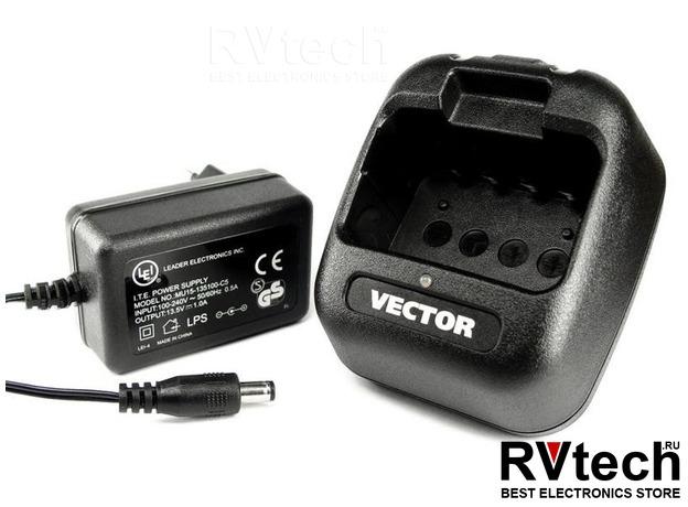 Зарядное устройство BC-44 L для рации Vector VT-44 Military/PRO, Купить Зарядное устройство BC-44 L для рации Vector VT-44 Military/PRO в магазине РадиоВидео.рф, Vector