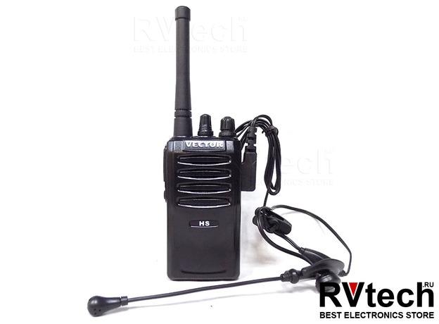 Рация Vector VT-44 HS, Купить Рация Vector VT-44 HS в магазине РадиоВидео.рф, Рации Vector VT