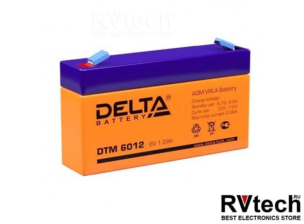 DELTA DTM 6012 - Аккумулятор для UPS. 6 V, 1,2 A, Купить DELTA DTM 6012 - Аккумулятор для UPS. 6 V, 1,2 A в магазине РадиоВидео.рф, Аккумулятор Delta DTM