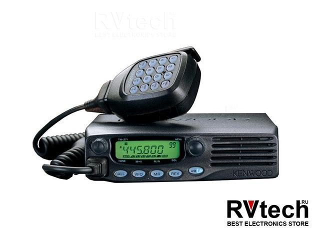 Автомобильная радиостанция Kenwood TM-481 UHF, Купить Автомобильная радиостанция Kenwood TM-481 UHF в магазине РадиоВидео.рф, Kenwood