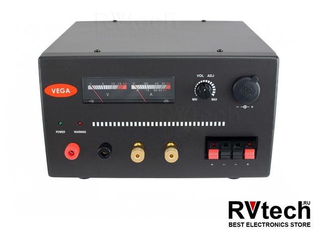 Блок питания VEGA PSS-3045 для стационарных радиостанций, Купить Блок питания VEGA PSS-3045 для стационарных радиостанций в магазине РадиоВидео.рф, Vega